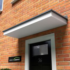 Windermere GRP Door Canopy