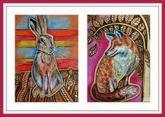 The Fox and the Hare by Emily Garces,