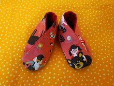baby shoe tutorial and pattern