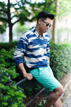 Outfit: Men's Lightweight Patterned Sweaters For... | Closet Freaks | Menswear & Personal Style