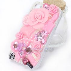 Now Hot Sale Cute Pink 3D Flower Luxury Rhinestone Crystal Diamond Pearl Skin Case Cover For iPhone 4 4S Free Shipping // iPhone Covers Online //   Price: $ 0.00 & FREE Shipping  //   http://iphonecoversonline.com //   Whatsapp +918826444100    #iphonecoversonline #iphone6 #iphone5 #iphone4 #iphonecases #apple #iphonecase #iphonecovers #gadget #gadgets