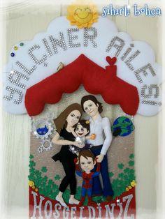 sihirli bohça-aile kapı süsü