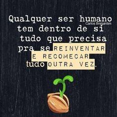 Qualquer ser humano…