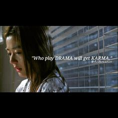 """Who play #DRAMA will get #KARMA."" ⚠"