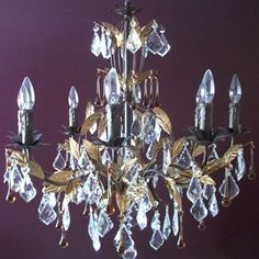 Tomia L 2680-08-012 Raven 8-Light Chandelier