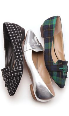 Flat loafers for fall//