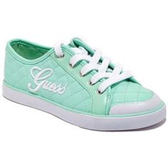 [Guess] Mint Quilted Diamond Sneakers Authentic Mint Quilted Diamond design by Guess. Guess Shoes Sneakers
