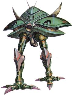 The MA-08 Big Zam is a mobile armor developed by the Principality of Zeon in the Mobile Suit Gundam television series. The massive mobile armor was piloted by Dozle Zabi during the Battle of Solomon.