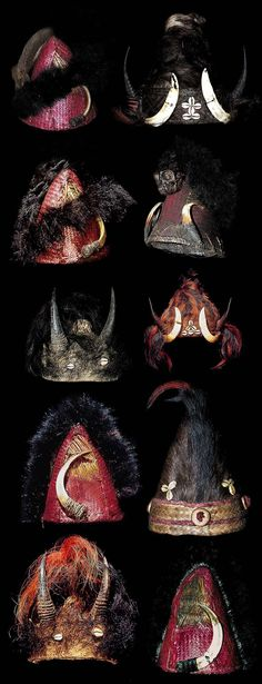 Naga Tribe hats Naga People, Tiger Tooth, Sword Dance, Human Skull, Thrift Fashion, Ethnic Jewelry, Tribal Art, Headgear, Headdress