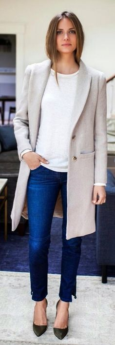 Classic casual daytime look