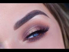 Fall Halo Eye Makeup   ABH Master Palette by Mario - YouTube