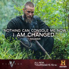 Travis Fimmel as Ragnar mourning Athelstan on Vikings </3