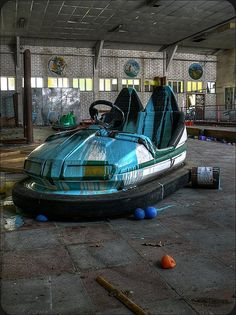 Bumpercar in Dadipark, which closed because of safety concerns.