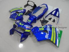1998-2001 Honda VFR800 Movistar Motorcycle Fairing Kit