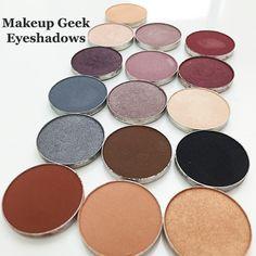 Makeup Geek Eyeshadows