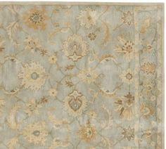 New Pottery Barn Gabrielle Handmade Persian Style Woolen Rugs & Carpet