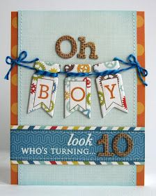Snippets By Mendi: An Echo Park All About A Boy Birthday Card
