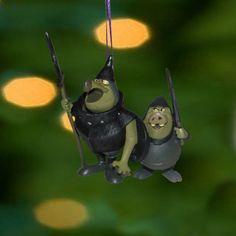 Disney Sleeping Beauty Christmas Ornament Maleficent Villain Goons Guards Pvc