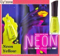 CY° NAILS IN! NEON Esmalte para Uñas fosforecente Color: NEON YELLOW Para ti a solo S/. 8.90