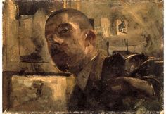 George Hendrik Breitner (1857-1923) • Zelfportret, ca.1885