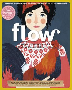 Flow Magazine Issue 17 - A magazine for paper lovers, Celebrating Creativity, Imperfection and Life's Little Pleasures Paper Crafts Magazine, Magazine Art, Magazine Design, Magazine Covers, Photo Journal, A Whole New World, Still Love You, Daily Photo, Book Design