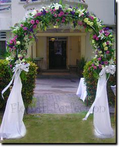 Wedding Arch and Bridal Arch from Flower Perfection Hampshire