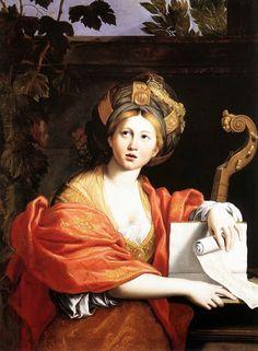 TICMUSart: A Sibyl - Domenico Zampieri (Domenichino) (1617) (I. M.)