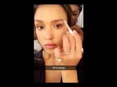Jessica Alba Honest Beauty Everyday Makeup Tutorial - YouTube