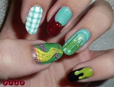 wizard of oz nail art - Google Search