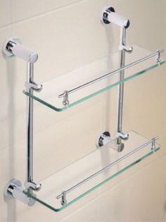 Shower shelf - double