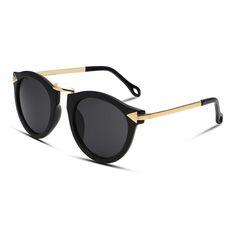 8807e27caebc 2017 New Fashion Brand Designer Vintage Trend Sunglasses For Women Men  Round Retro Sun Glasses Driving