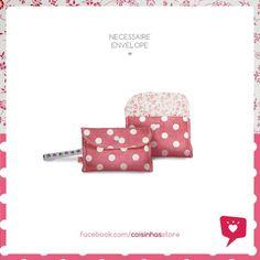 Nécessaire Envelope Delicadeza R$18.00