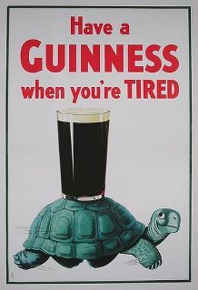 Done. Ah...Guinness.