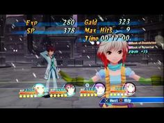 Tales Of Grace F Ps3 gameplay - YouTube