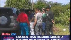 VIDEO – Encuentran hombre #muerto dentro de jeepeta en Sosúa