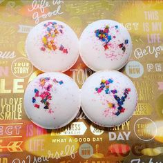 24 BATH BOMBS Personalized Wedding Bridal Shower Party Favors