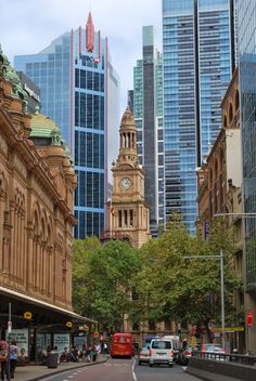 Downtown Sydney, Australia~ by Deanne Joy