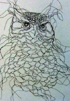 Elizabeth Berrien wire wall art