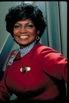 Still of Nichelle Nichols in Star Trek II: The Wrath of Khan (1982)