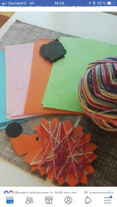 Bis zum Herbst - Fall Crafts For Toddlers Autumn Crafts, Fall Crafts For Kids, Autumn Art, Toddler Crafts, Diy For Kids, Autumn Style, Kids Fun, Autumn Activities, Toddler Activities