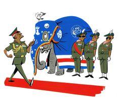 Monocle : Armies : illustrated by Satoshi Hashimoto www.dutchuncle.co.uk/satoshi-hashimoto