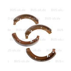 T1 Bremsbacken Satz hinten bis 7.63   in T1-1967, T1 Bremsen und Räder, T1 Bremsbacken, Beläge & Radbremszylinder. Kompletter Bremsbackensatz für denVW