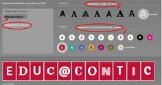 Cómo hacer carteles letra a letra para imprimir | Nuevas tecnologías aplicadas a la educación | Educa con TIC