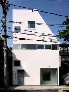 A multi-generational small home in Japan. See more at http://humble-homes.com/compact-contemporary-multi-generational-home/