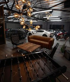 Awesome Industrial Style Decor Designs That You Can Create For Your Urban Living Space Apartment Industrial Design – garage Garage House, Man Cave Garage, Car Garage, Man Cave Doors, Garage Shop, My House, Man Cave Diy, Man Cave Home Bar, Car Man Cave