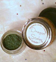 Dragon Scales Maleficent Disney Villain eyeshadow by GardenGateHollow