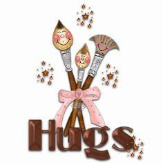 animated hugs and kisses   Graphics » Kisses hugs Graphics...:)