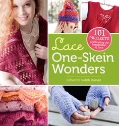 Stretch a single skein of yarn into a complete knitted lace project. Knitters of all levels will be thrilled by the dizzying array of lace wonders that can be created with such a small fiber sample. Try your hand at an heirloom-quality lace shawl, light and airy curtains, cozy baby blankets, a dainty child's dress, and much more. With clear instructions for 101 projects contributed by designers and knitters from around the world, you'll be inspired to pull out your needles and get knitting.