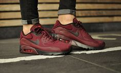 a15d0716f1 Nike Air Max 90 Ultra SE Night Maroon Black Men's Shoes - Landau Store -  Product Review - June 1, 2019