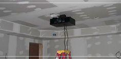 Base soporte de techo para video beam optoma acer epson aigo benq nec | Bases y Soportes Ltda